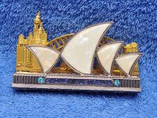 SYDNEY AUSTRALIA SOUVENIR METAL SMALL LETTER RACK