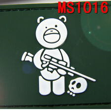 Military Embroidered Green Airsoft Titus Bear Patches Soldier Magic Back Patch