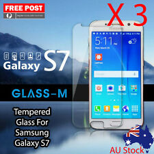 "3 X Tempered Glass For Samsung Galaxy S7 5.1"" Screen Protector Smart phone"