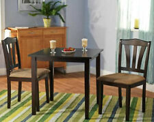 Small 3 Piece Dining Set Table And Chairs Kitchen Furniture Wood Dinette