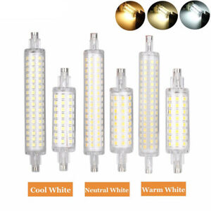 Dimmbar R7S LED 78mm/118mm 5W 10W Warmweiß Kaltweiß Strahler Leuchtmittel Birne