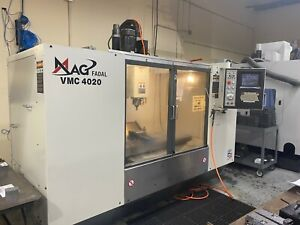 FADAL CNC VMC 4020 2007 Factory Remanufactured Box Way 700IPM 10,000 RPM Spindle