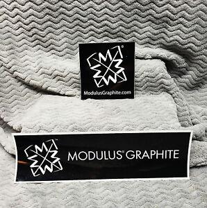 Modulus Graphite 2 Sticker Set<<>>GENUINE<>ORIGINAL