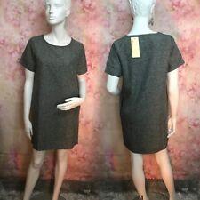 GREY T SHIRT KOREAN DRESS SIZE L # ( SX25 )