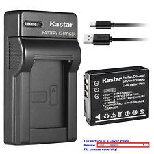Kastar Battery Slim Charger for Panasonic CGA-S007 & Panasonic LUMIX DMC-TZ3K