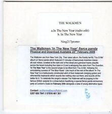 (FG436) The Walkmen, In The New Year - 2009 DJ CD