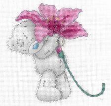 New DMC Me to You Tatty Teddy Printed Cross Stitch Kit - BL1142/72 Pink Lily
