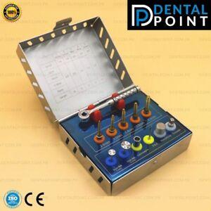 Dental Bone Expander Kit with Saw Disks Surgical Implants Instruments