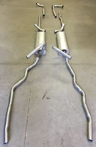 1956 PACKARD DUAL EXHAUST, ALUMINIZED WITH RESONATORS, PATRICIAN, CARIBBEAN, 400
