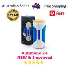 Autoblow 2+ ORIGINAL NEW & Improved + 1 Year Warranty