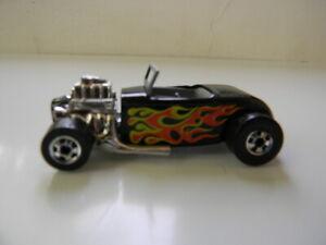 Vintage Hot Wheels Street Rodder Black Basic Wheels 1975 Loose