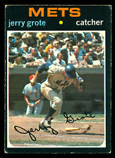 1971 TOPPS OPC O PEE CHEE CANADIAN BASEBALL 278 JERRY GROTE EX N Y METS CARD