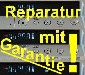REPARATUR PANASONIC DMR-EX71S DMR-EX81S NO DISC neue Lasereinheit
