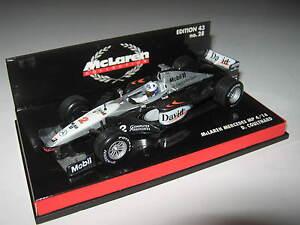 1:43 McLaren Mercedes MP4/14 D.Coulthard 1998 530994302 Minichamps Boxed New