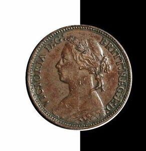 1875 Great Britain Farthing