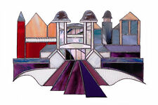 Limited Edition Signed Stained Glass Print - Penarth Pier Pavillion