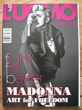 L'Uomo Vogue MADONNA by Tom Munro *nipple shot*  05/2014 Ludacris Neymar NEW