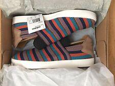 Adidas Originals Consortium X Pharrell Pink Beach Multicolor Slip on Sz 10