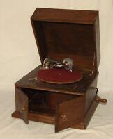 Antiquitäten & Kunst Grammophon Pathe Freres Phonograph Vt Absolut Selten Rar Mit Holzabtaster