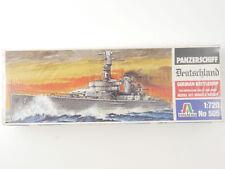 Italeri 505 Battleship Panzerschiff Deutschland 1/720 Kit MIB! OVP 1606-10-43