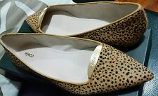 💕💕💕 New MIMCO Honey Print Ballet Flats Leather Shoes Sandals Size 36 Or 5 💟