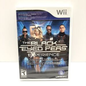 The Black Eyed Peas Experience (Nintendo Wii) Brand New! Factory Sealed!