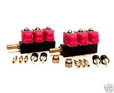 Valtek Rail Injektor Einspritzleiste LPG Typ 30 6 Zylinder 3 Ohm GPL Autogas T30