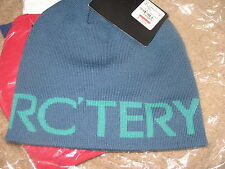 Arc'teryx WORD HEAD LONG Toque.Color:Thalo Blue/Nautilus.One size.NWT.