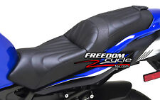 07-2009 YAMAHA FZ6 FZ 6 FZ600 CORBIN GUNFIGHTER AND LADY SEAT BLACK LEATHER NEW!