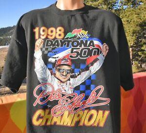 1998 Vintage DALE EARNHARDT T-Shirt Unisex Cotton Reprint S-5XL TK7484