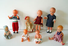 Konvolut Puppen - Schildkröt Edi E.S. und andere - Puppenstube 50er/60er Jahre