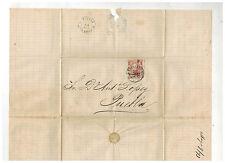 1873 Veracruz Mexico Cover to Puebla Dr Antonio Lopez 5