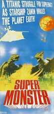 Gamera Super Monster Poster 01 Metal Sign A4 12x8 AluminIum