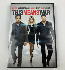 This Means War DVD - Reese Witherspoon, Chris Pine, Tom Hardy
