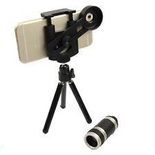 8X Optical Zoom Camera Telescope Microscope Lens Holder for Universal Cell Phone