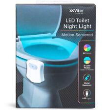 TikTok Motion Sensor 8 Color RGB LED Toilet Night Light w/ Color Rotate & Select