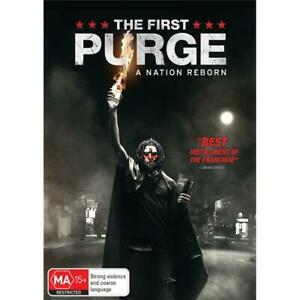 The First Purge DVD | A Film by Gerard McMurray | Region 4 & 2