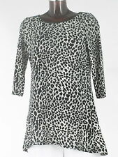 Marks and Spencer Women's Animal Print Scoop Neck Tops & Shirts