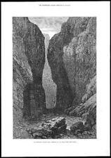 1878-AFGHANISTAN PAKISTAN GUERRA BOLAN PASS TOBA Kakar Belucistan (123)