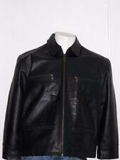 WOMENS THE ORIGINAL TRACTION BLACK LEATHER JACKET BY JOCO AUSTRIA SIZE MEDIUM