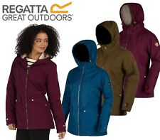 RRP £75 REGATTA LADIES / WOMENS WATERPROOF PADDED JACKET SIZES 10-30 Brda