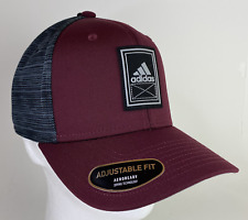 Adidas CM Alliance Cap StrapBack Cap One Size Hat Maroon/Black/Grey Mens 5143590