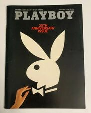 Playboy Magazine Cover ONLY January 1974 20th Anniversary Issue