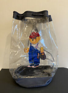 Polo Ralph Lauren Limited Edition See Through Rucksack With Polo Bear Design