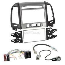 Hyundai Santa Fe CM ab 11 2-DIN Autoradio Einbauset Adapter Kabel Radioblende
