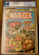 Warlock #11 PGX 9.8 White Pages; 1st Full Appearance of the In-Betweener NOT CGC