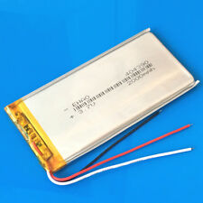 2000mAh 3.7V Li Po Battery 3 wires 404390 For DVD GPS Camera Cell phone PAD MID