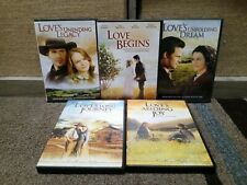 5 DVD Lot Of Janette Oke Love Comes Softly Series.
