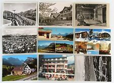 Postkarten Lot SCHWEIZ 9x AK ua. Zürich, Lenk, Berner Oberland, Genf, St. Gallen