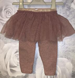 Girls Age 6-9 Months - Next 2019 Leggings & Skirt Combo